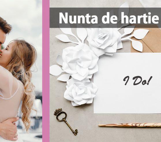Nunta de hartie – 1 an de casatorie